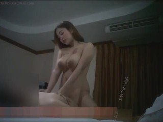 big tits Chinese hooker in hotel