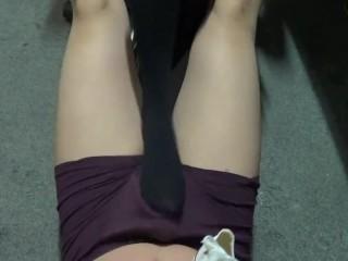 Chinese sockjob