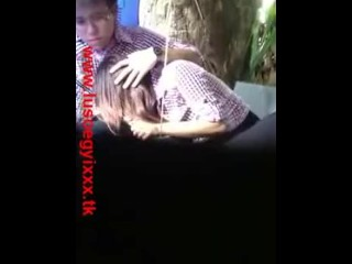 Myanmar Sucking Dick Karen girl sucking Chinese Dick in Public Garden Ygn