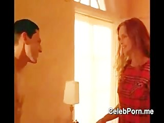 Heather Graham nude and lesbian sex scene