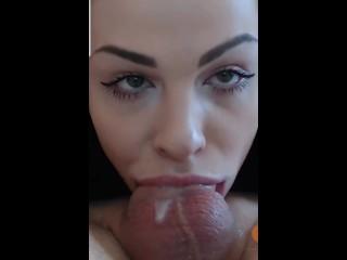 Balls deep deepthroat (found on the web)
