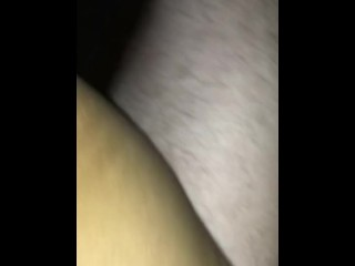POV – Thick White Dick Fucks Tight Petite Indian Girl in Car