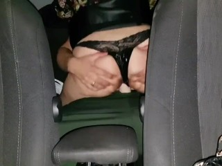Car sex – Step mom fucked in my taxi for free