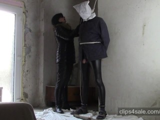 Punished husband (HOM, bagging and noose)