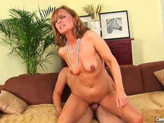 Czech blonde mature