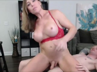 Pounding A Very Hot Busty Tranny