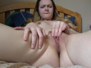 Beautiful girl real orgasm 60FPS … fuck what a beautiful girl
