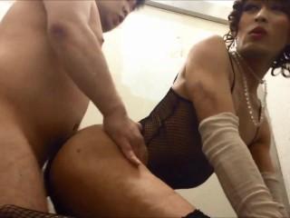 Hooker Mariko anal fuck with fanboy.