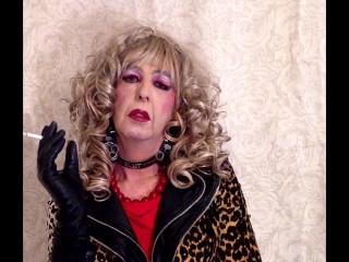 Master's Tranny Hooker Mandy Smoke Slut