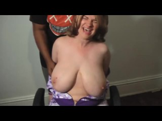 Busty Girl Groped and Tickled