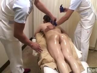 Japanese Doctor Fucks Cute Tranny