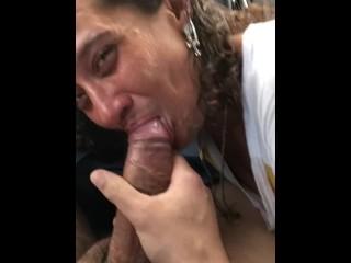 Miami Latina Street Hooker Blowjob