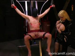 Norwegian MonicaMilf s tower of pain – femdom