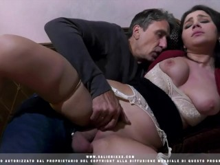 hot girl gets fucked by an old guy