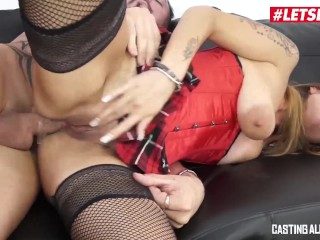 LETSDOEIT – Hot Italian Mom Takes Rough Anal At Casting