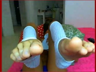 Gorgeous Italian Teen Feet Self-Worship Part 1