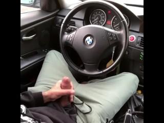 Public bating in car