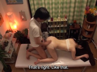 Japanese massage for virgin schoolgirl leads to sex