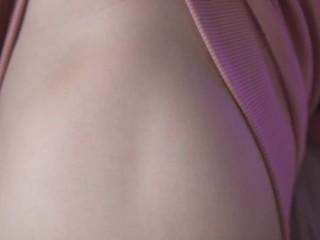 生身ラブドールさくらちゃん(Part1) さくらちゃんの色白やわらか肌とパイパンおまんこをじっくり観察!