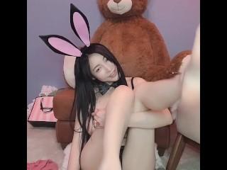 网红Elise兔兔谭晓彤 Cosplay sexy bunny